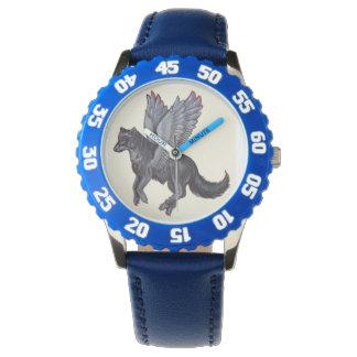 Relógio voado do lobo