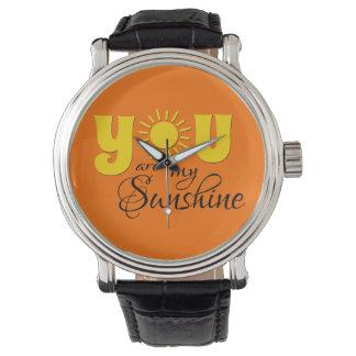 Relógio Você é minha luz do sol