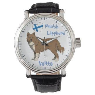 Relógio Watch finlandês Lapphund Lapinkoira irlandesa