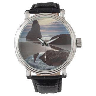 Relógio Wayside Espinho-Dado forma da rocha da cara do