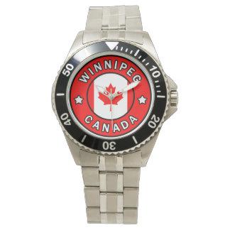 Relógio Winnipeg Canadá