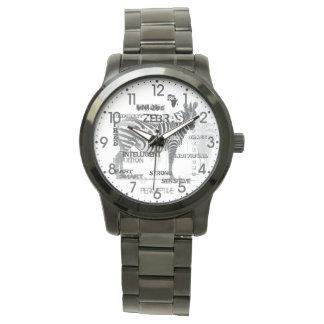 Relógio Zebras originais