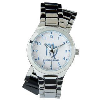Relógio Zodíaco do Virgo de Blau Jungfrau