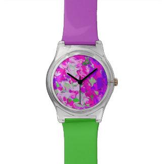 Relógios de forma artísticas modernos das senhoras