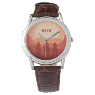 Relógios feitos sob encomenda do monograma do por