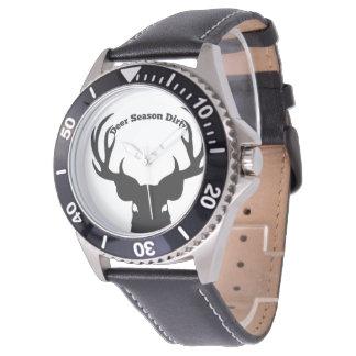 Relógios sujos da estação dos cervos