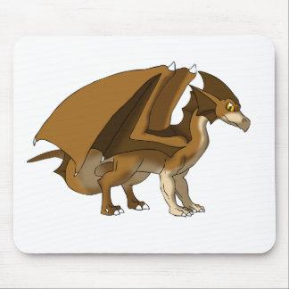 Remake do dragão do chocolate nenhum fundo mouse pad