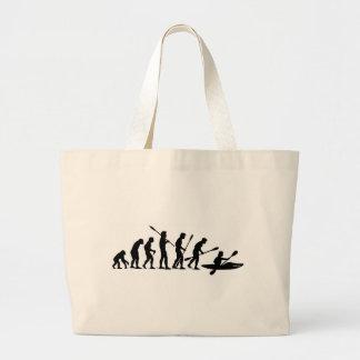 Remando a evolução (caiaque) bolsa de lona