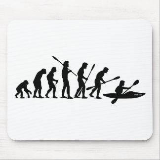Remando a evolução (caiaque) mouse pad