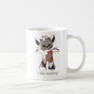 Remenda a caneca que do gato eu gosto de ler!