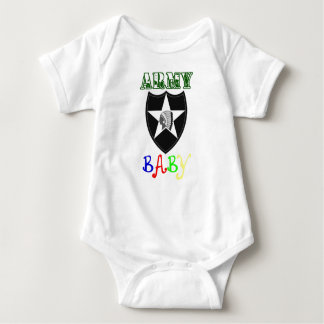 Remendo da identificação do bebê do exército ò body para bebê