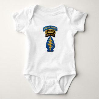 Remendo das guardas florestais LRRPS das boinas Body Para Bebê