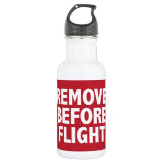 Remova antes do vôo