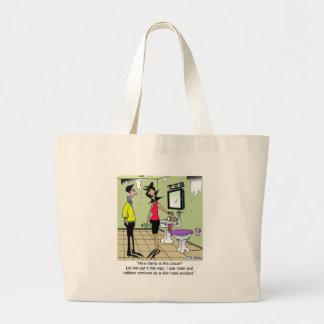 Removedor do molde como um produto dos cuidados co bolsas para compras
