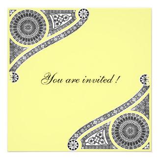 RENASCIMENTO, amarelo Convite Personalizados
