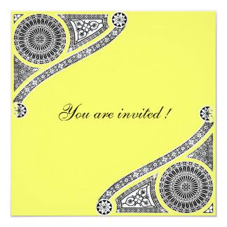 RENASCIMENTO, amarelo Convite