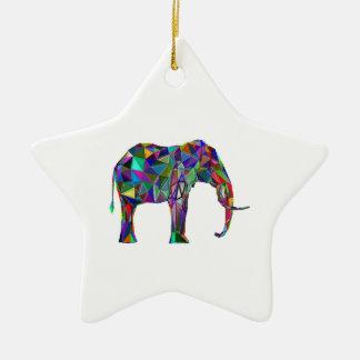 Renascimento do elefante ornamento de cerâmica