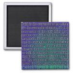 Rendição de Chris Hitchens do ímã da razão (azuis) Ima
