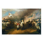 Rendição do senhor Cornwallis por John Trumbull 18 Posteres