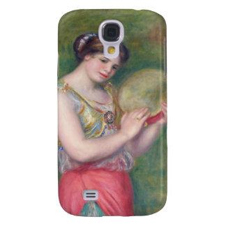 Renoir - dança da menina com pandeiro capas samsung galaxy s4