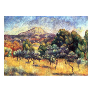 Renoir: Montagem Sainte-Victoire Cartão De Visita Grande
