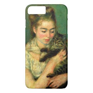 """Renoir """"mulher com um gato """" capa iPhone 7 plus"""