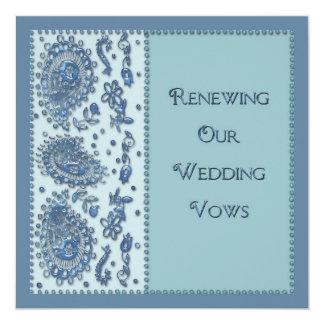 Renovação dos votos de casamento (perlada)