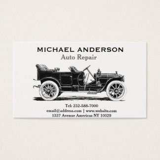 Reparação de automóveis e concessionário automóvel cartão de visitas