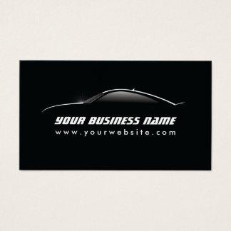 Reparação de automóveis legal automotriz do esboço cartão de visitas