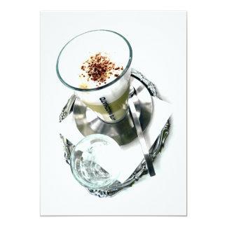 Reparo de Latte do café Convite 12.7 X 17.78cm