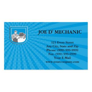 Reparo do carro do automóvel do auto mecânico do cartão de visita