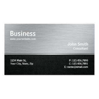 Reparo moderno profissional do computador da prata cartão de visita