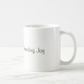 Repita a caneca de som da alegria