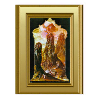 Representação de Monte Sinai Cartão Postal