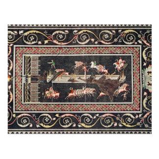 Representação de um mosaico cartão postal