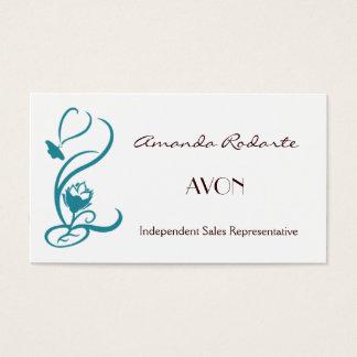 Representante de vendas independente, Amanda Cartão De Visitas