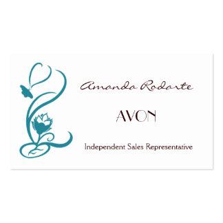 Representante de vendas independente, Amanda Rodar Modelo De Cartões De Visita