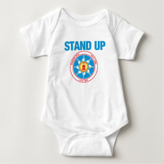 represente acima a rocha ereta body para bebê