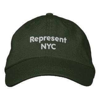 Represente o boné de NYC