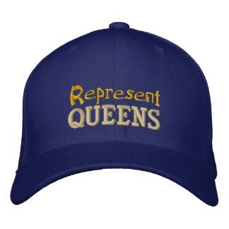 Represente o boné do Queens