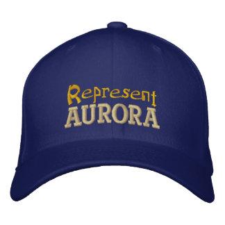 Represente o boné dos primaveras da Aurora