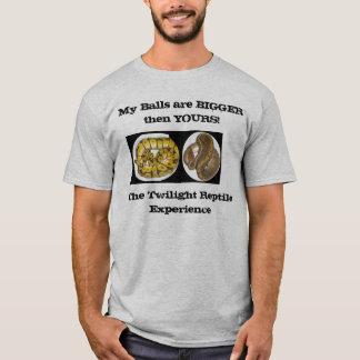 réptil engraçado dos homens camiseta