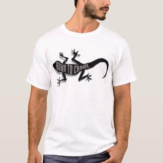 Réptil Logo_Crawl Camiseta