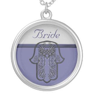 Repto da mão de Hamsa: Coração (casamento) (efeito Colares Personalizados