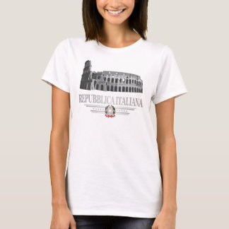 Repubblica Italiana (coliseu romano) Camiseta