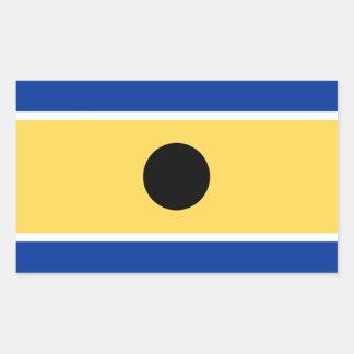 República da etiqueta do titã