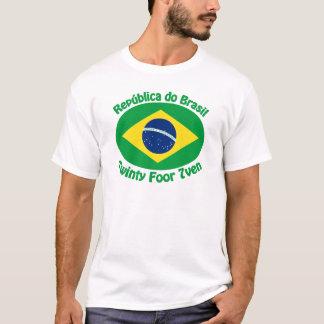 República de Brasil - Twinty Foor 7ven Camiseta