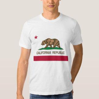 República de Califórnia (bandeira do estado) T-shirts