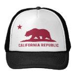 República de Califórnia - básica - vermelho Bone