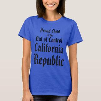 República de Califórnia Camiseta